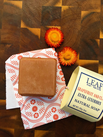 Grapefruit and Clay bar soap