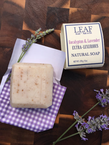 Eucalyptus & Lavender Face and Body Bar