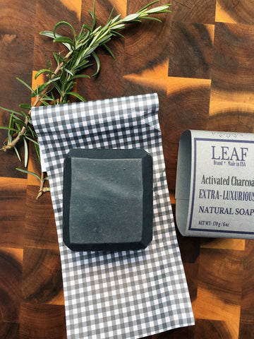 Activated Charcoal Face and Body Bar