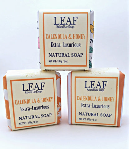 Calendula and Honey Face and Body Bar