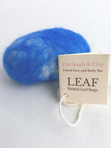 Patchouli & Clay Felted Soap