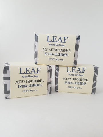 Activated Charcoal Face and Body Bar 3 oz