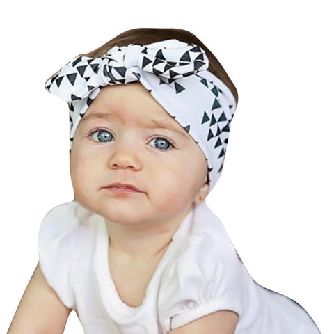 Baby Girls Headband, Hairband, Rabbit Ears, Turban, Bowknot or Headwrap