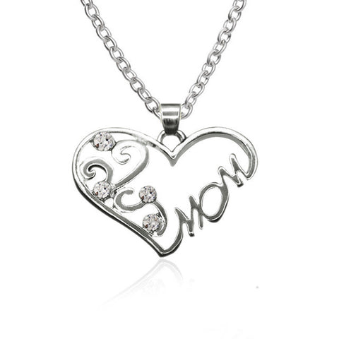 I Heart Mom Necklace