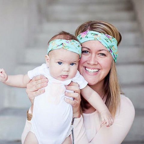 Mom and Me Boho Headband