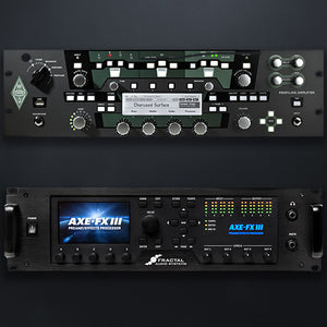 Choose between Kemper or Axe Fx platforms.