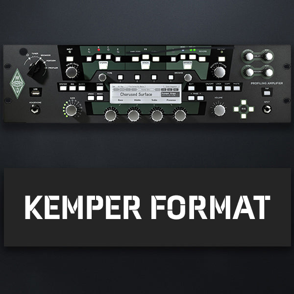 Currently available for Kemper Format's only. Axe Fx coming soon!