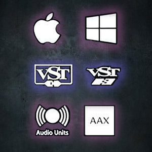 Supports VST, Audio Units, AAX Native and AudioSuite formats.