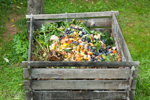 Preparing Homemade Compost with Organic Materials & Kitchen Waste
