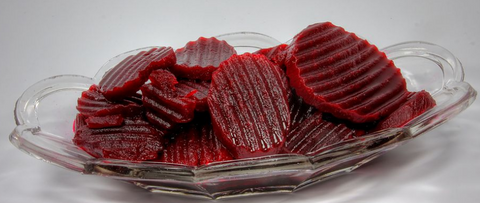 Sliced and Pickled Beetroot