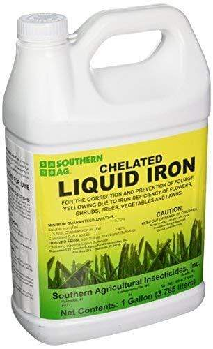 Southern Ag Lawn & Patio 1 Gallon 16 Oz Chelated Liquid Iron
