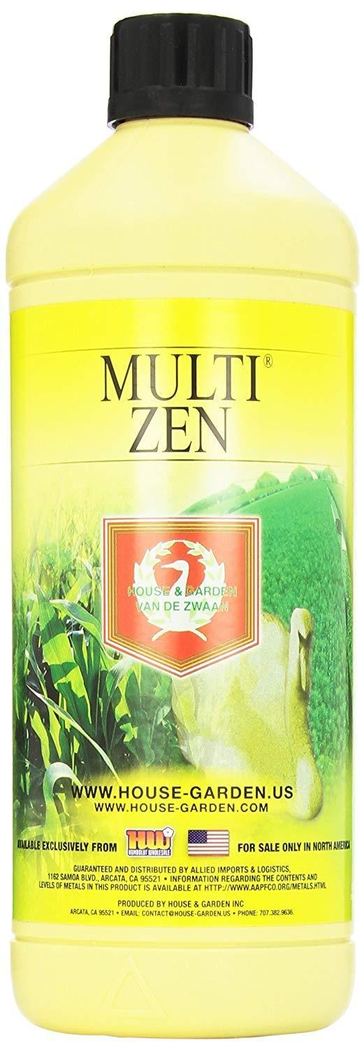 House & Garden Lawn & Patio 1 L Multi Zen Fertilizer