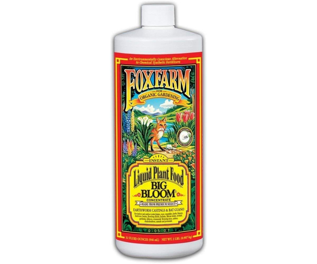 Fox Farm 1 Quart Big Bloom Liquid Concentrate