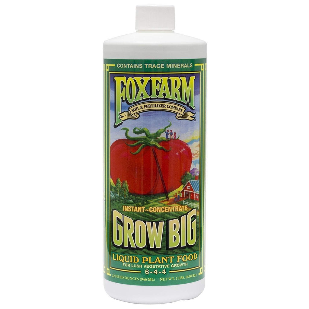 Fox Farm Lawn & Patio 1 Quart Grow Big Liquid Concentrate 6-4-4