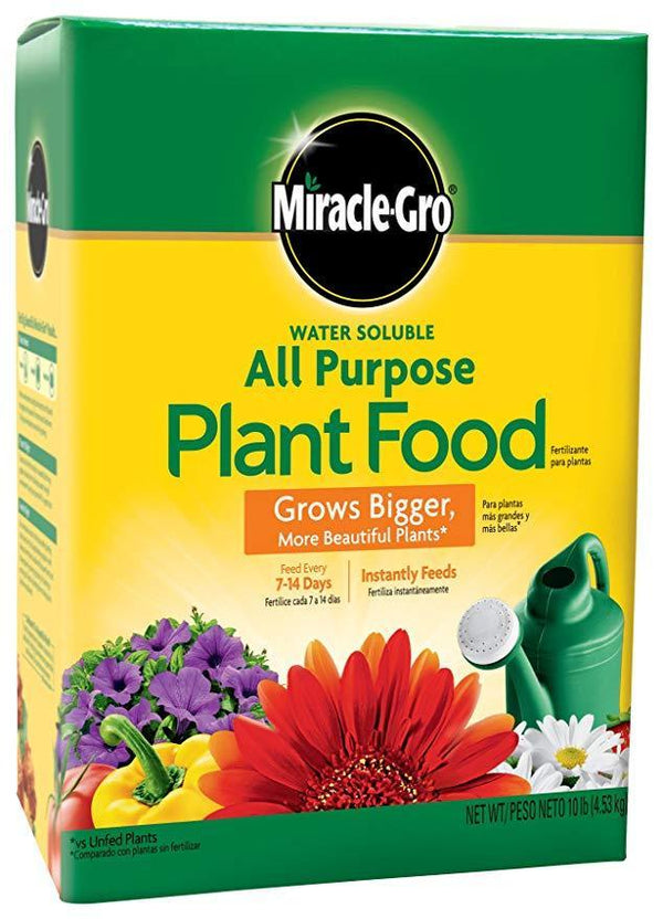 Miracle-Gro Lawn & Patio 10 Lb All-Purpose Water Soluable Fertilizer
