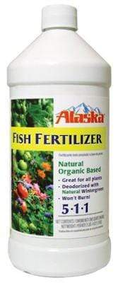 Alaska Lawn & Patio 32 Oz Fish Fertilizer Concentrate 5-1-1