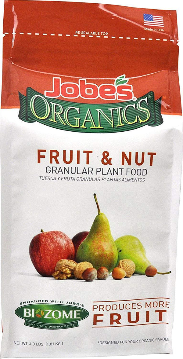 Jobe's Lawn & Patio 4 Lb Fruit & Nut Granular Fertilizer