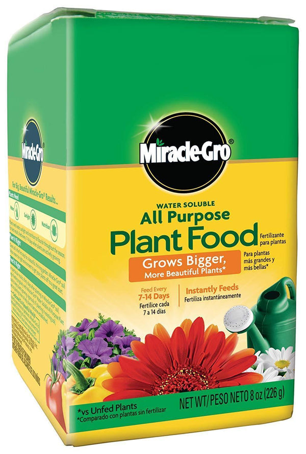 Miracle-Gro Lawn & Patio 4lbs All-Purpose Water Soluable Fertilizer