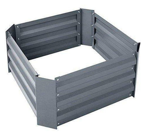 Galvanized Steel Raised Garden Bed Kit