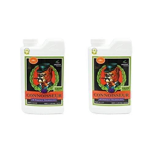 Advanced Nutrients Hydroponics pH Perfect Connoisseur Grow Part A+B Soil Amendments