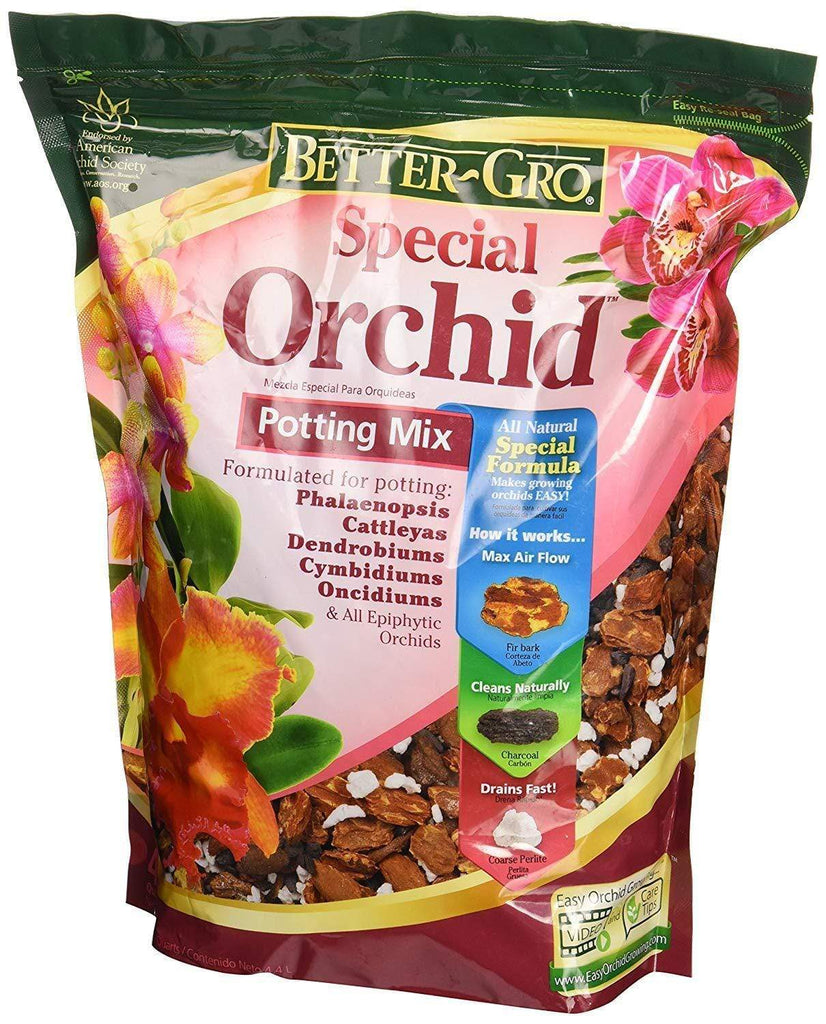 Better-Gro Lawn & Patio 4-Quart Special Orchid Mix