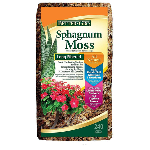 Better-Gro Lawn & Patio Sphagnum Moss