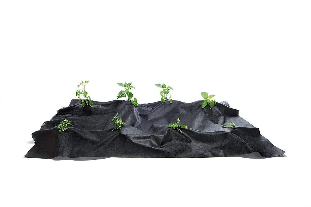 Green Valley Supply Lawn & Patio Black Landscape Fabric Barrier (4-Pack, 128' X 3'11