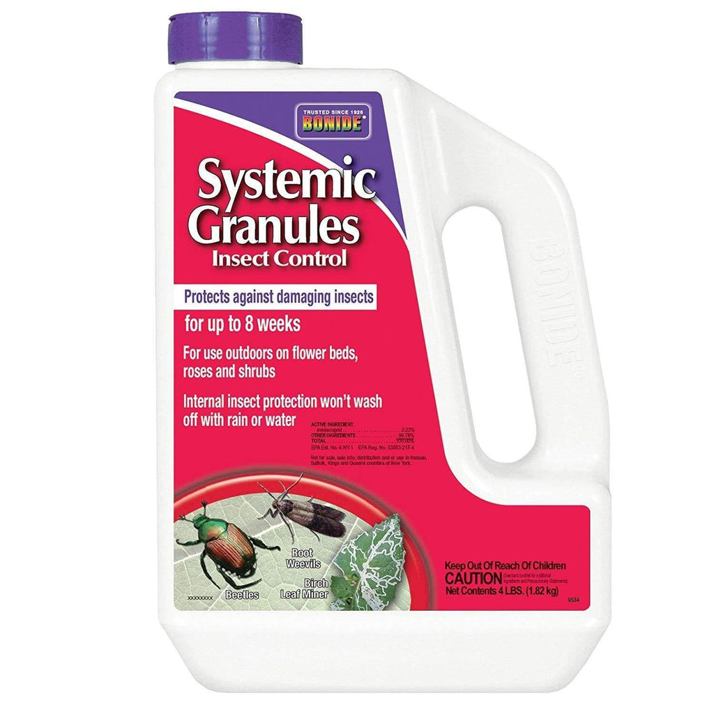 Bonide Lawn & Patio 4 Lb Systemic Granules .22%