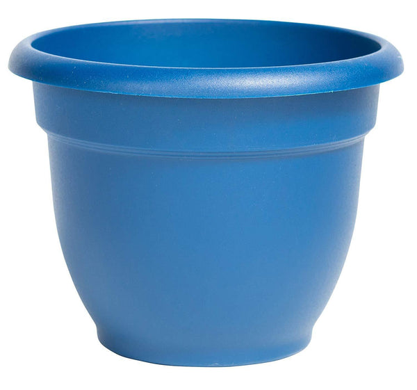 Bloem Lawn & Patio Deep Sea Ariana Self Watering Planter, 8""