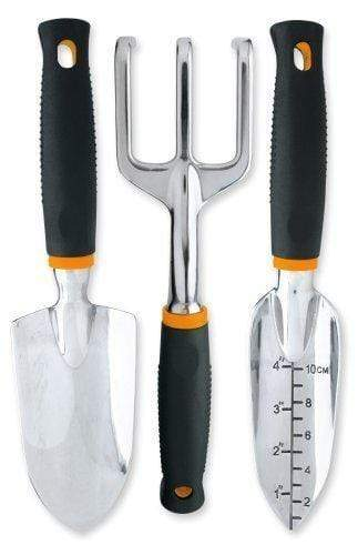 Fiskars Lawn & Patio Softouch Garden Tools, 3-Piece Set