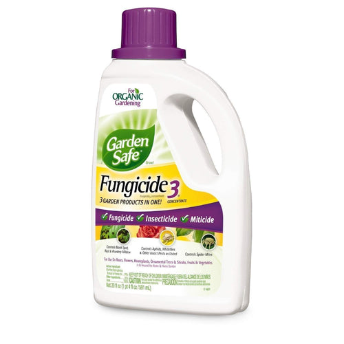 Garden Safe Lawn & Patio 20-Ounce Fungicide 3 Concentrate