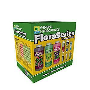 General Hydroponics Hydroponics Flora Series Performance Pack