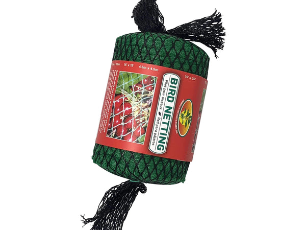 Green Valley Supply Lawn & Patio Bird Netting 15' x 15'