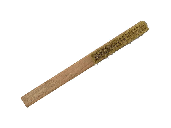 Green Valley Supply Lawn & Patio Gardener's Flat Long Handled Cleaning Brush