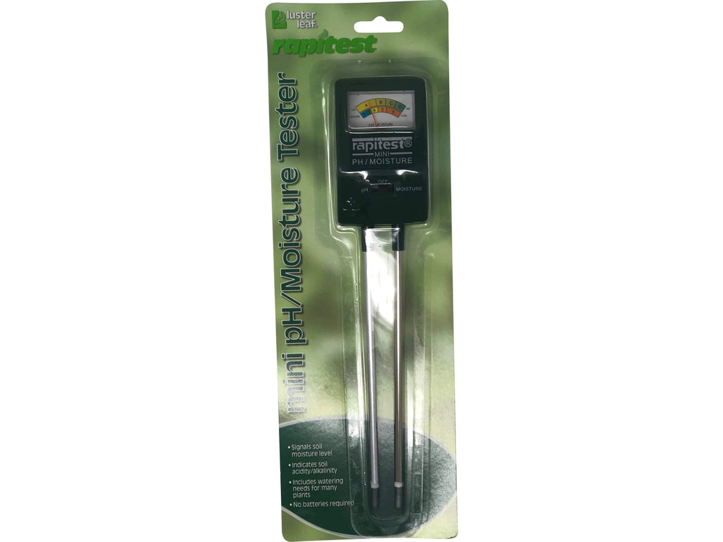 Green Valley Supply Lawn & Patio Mini PH/Moisture Tester