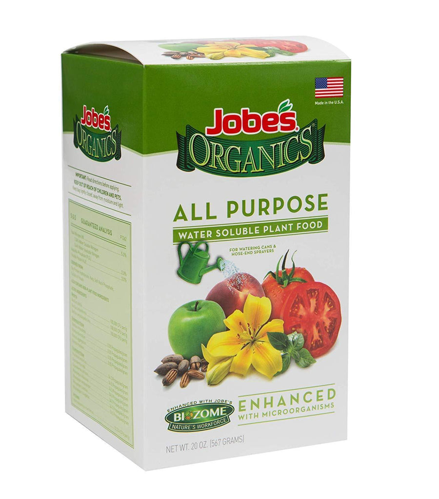 Jobe's Lawn & Patio 20 Oz Plant Food Mix with Biozome