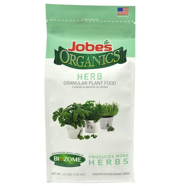 Jobe's Lawn & Patio 4 Lb Herb Plant Food