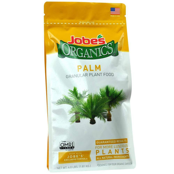Jobe's Lawn & Patio 4 Lb Palm Tree Fertilizer with Biozome, 4-2-4
