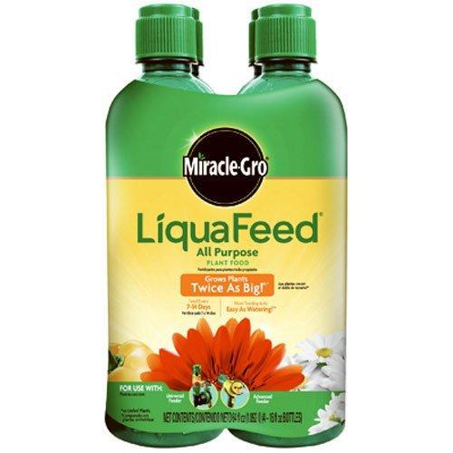 Miracle-Gro Fertilizer 16 Oz LiquaFeed All Purpose Plant Food Refill Pack (4-Pack)