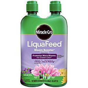 Miracle-Gro Fertilizer 2-Pack LiquaFeed Bloom Booster