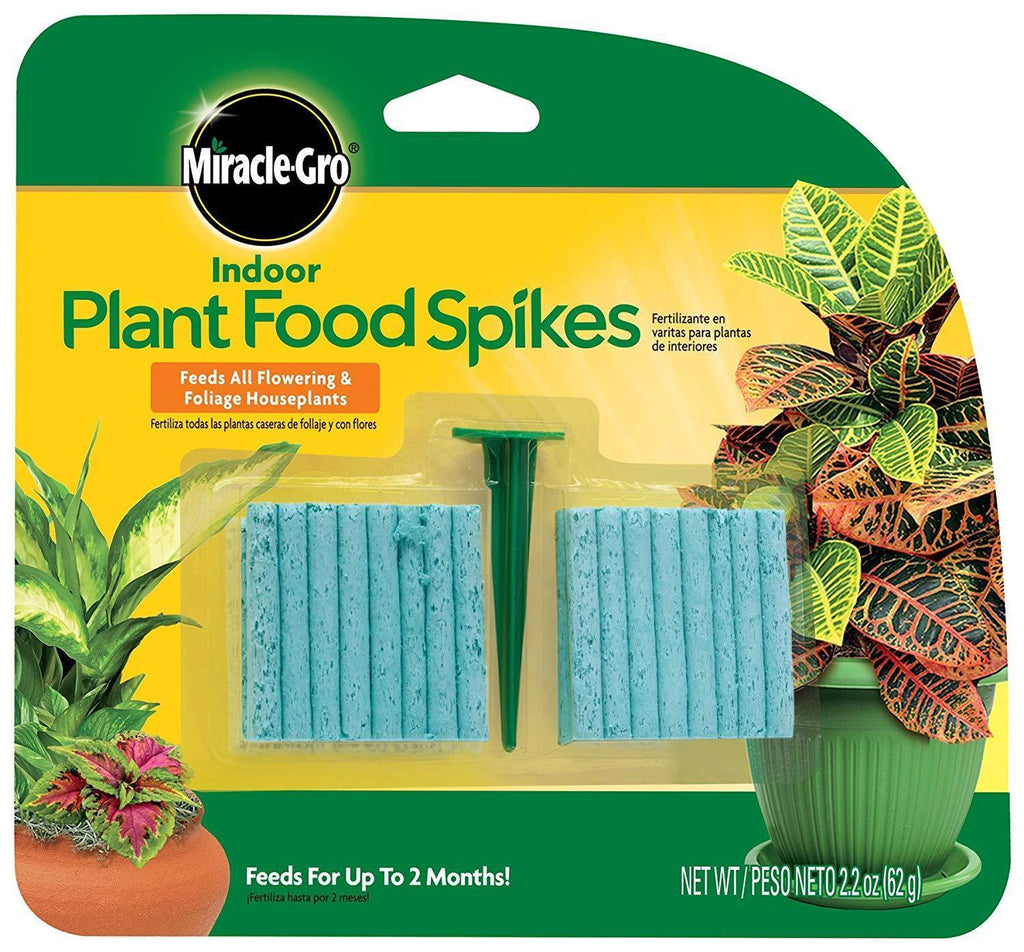 Miracle-Gro Lawn & Patio Indoor Plant Food, 48-Spikes