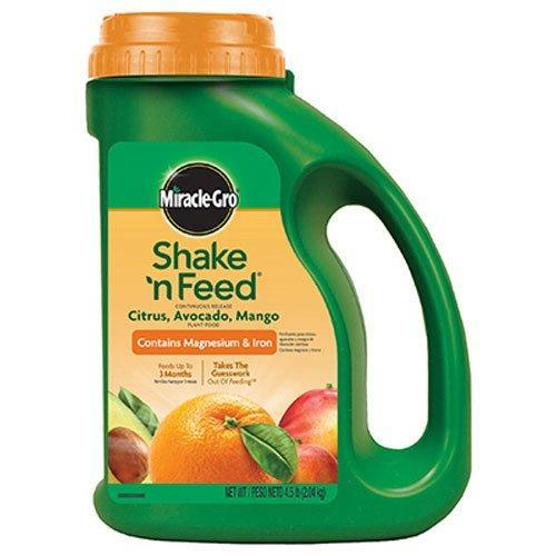 Miracle-Gro Lawn & Patio Shake 'n Feed Continuous Release Citrus, Avocado, Mango Fertilizer