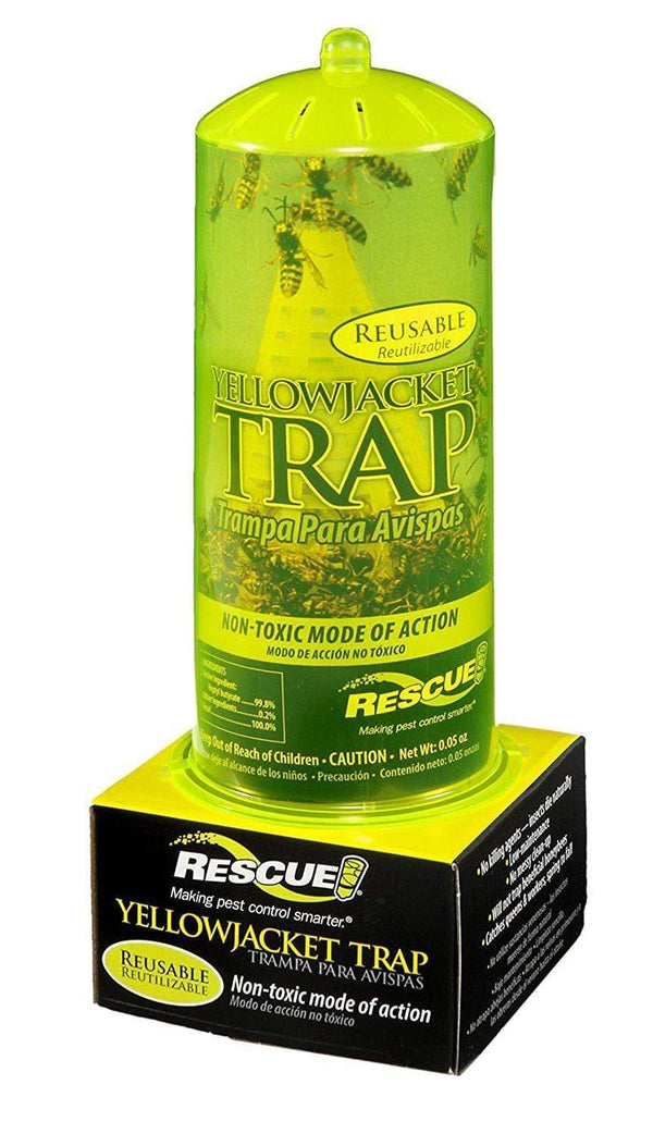 Rescue Lawn & Patio Reusable Yellow Jacket Trap