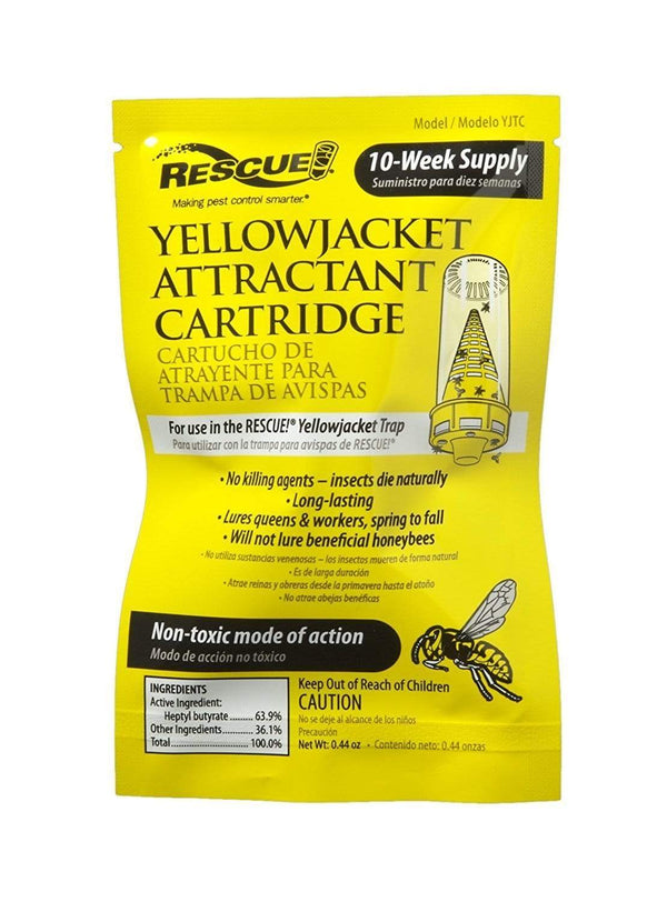 Rescue Lawn & Patio Yellow Jacket Attractant Refill Cartridge