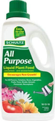 Schultz Lawn & Patio 32 Oz All Purpose Liquid Plant Food