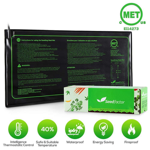 Seedfactor Lawn & Patio Seedling Heat Mat
