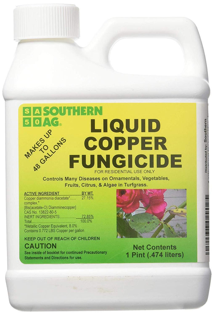 Southern Ag Lawn & Patio 1 Pint Liquid Copper Fungicide