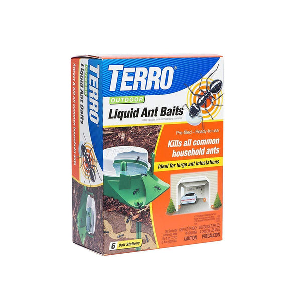 Terro Lawn & Patio 6-Pack Outdoor Liquid Ant Baits