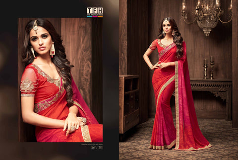 Beautiful Georgette Saree