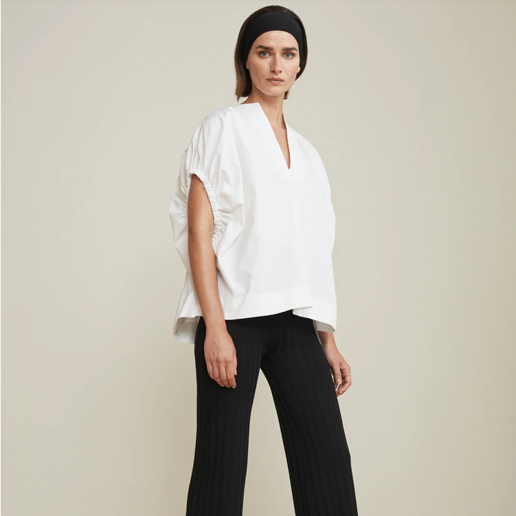 Sachi Split-neck Top